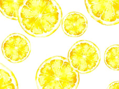 レモンの背景素材01