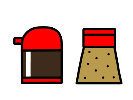 Seasoning sauce pepper