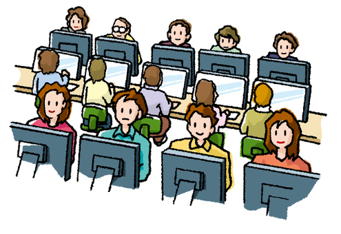 Computer with everyone!
