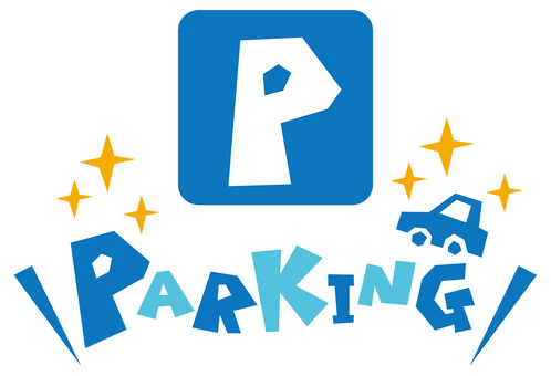 PARKING ~ Parking lot mark - Signboard