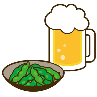 Beer and Edamame