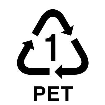 PET bottle mark