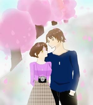 꽃놀이 데이트