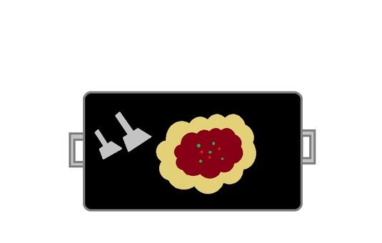 Hera iron plate okonomi
