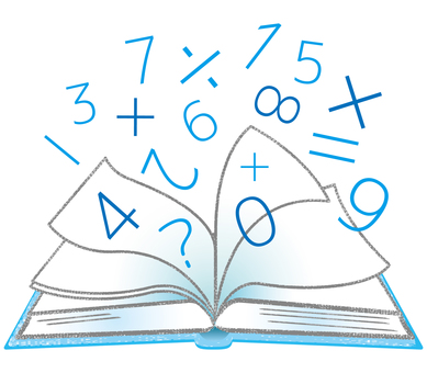 【Modified version】 Arithmetic mathematics reference book Textbook Open note