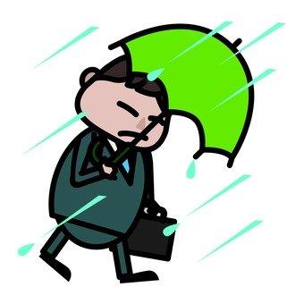Attendance on rainy days