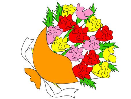 Carnation ~ Bouquet ・ Flower gift