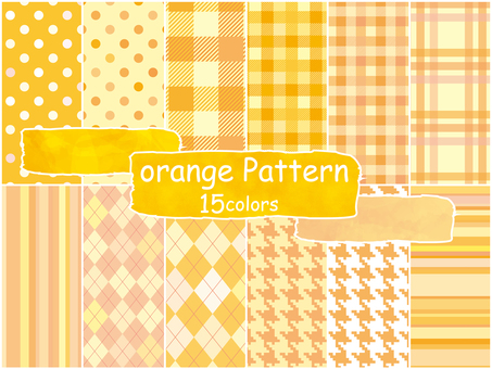 Background pattern orange pattern wallpaper autumn cute pattern