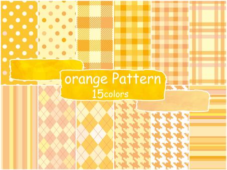 Background pattern orange pattern wallpaper autumn cute pattern
