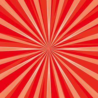Radiation background red 170305