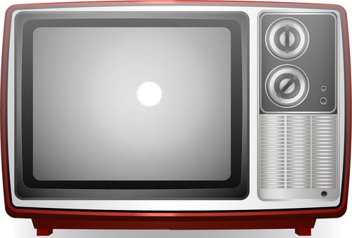 Retro · CRT television red