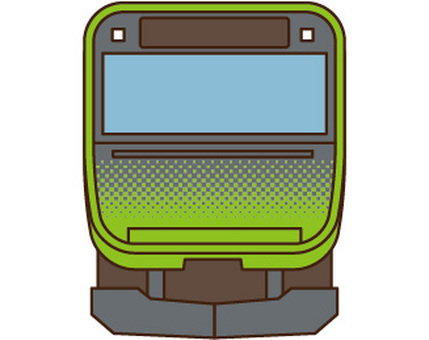 Yamanote Line E235 front view
