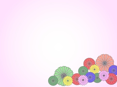 Japanese pattern flowers 6
