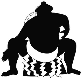 Sumo silhouette
