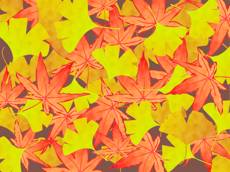 낙엽의 배경