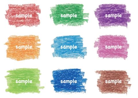 Crayon's frame set