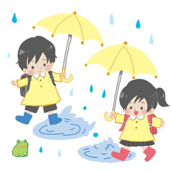Child rain