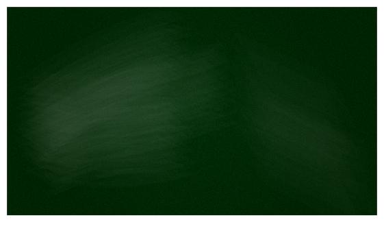 Video size / blackboard image (green)