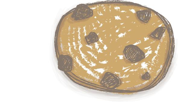 巧克力塊餅乾
