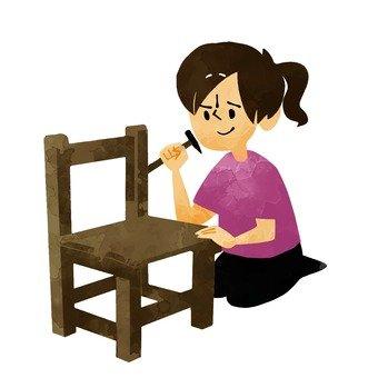 Make a chair 2