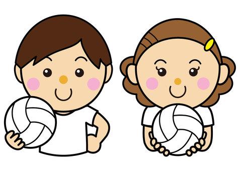 Men and women 29_40 (volleyball set)