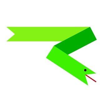 Linear snake (green)