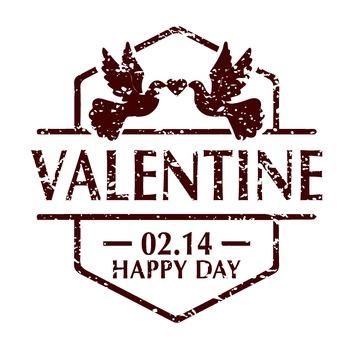 발렌타인 스탬프