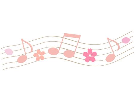 Cherry blossom score