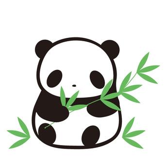 팬더와 대나무 그림