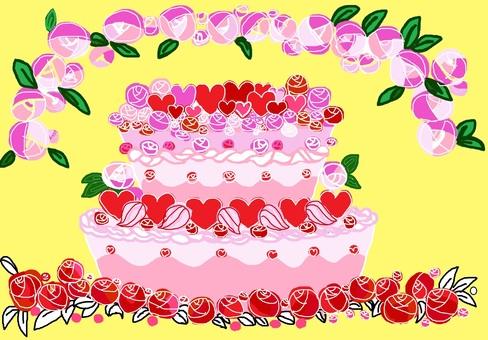 축하 케이크