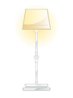 Antique furniture floor lamp