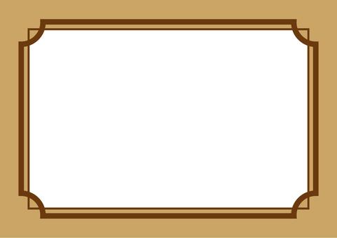 Frame brown