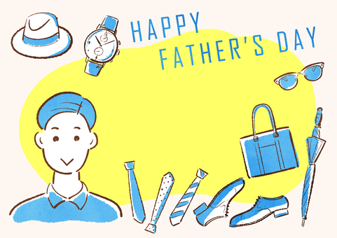 Father's Day Message Card
