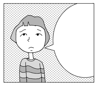 Speech balloon ⑥
