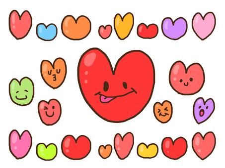 【Valentine】 Heart packed 【pop】