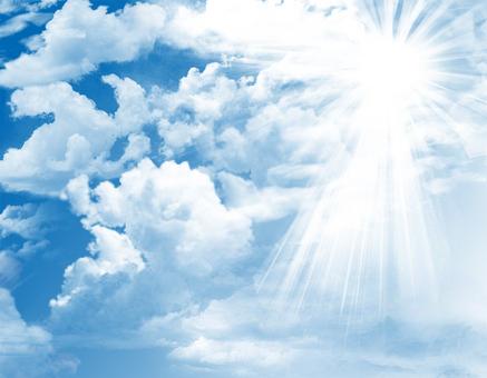 맑은 푸른 하늘