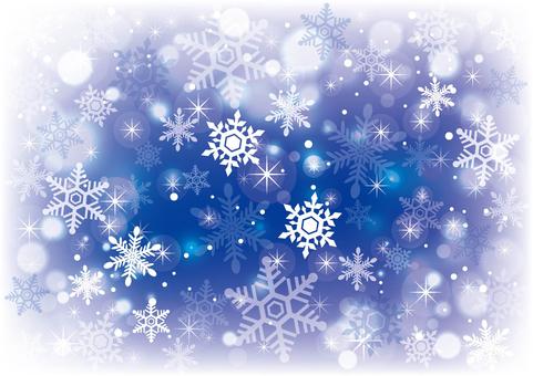 雪と星_背景13