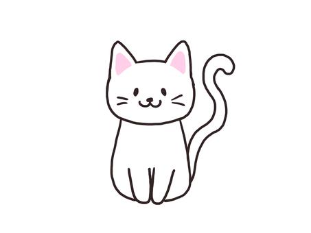 고양이 (흰색 고양이)