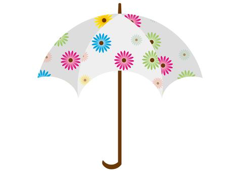 Floral umbrella 3