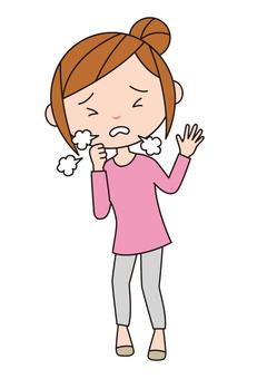 Symptoms of disease