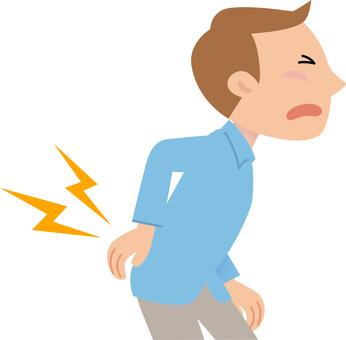 70918. Illness 4, Male, low back pain
