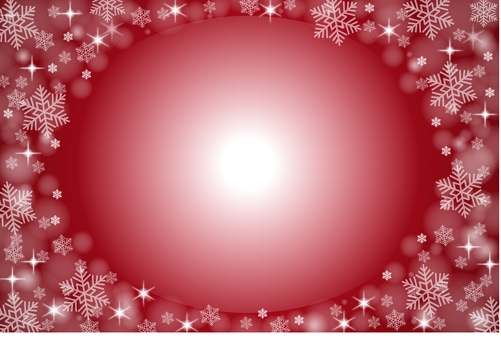 Red sparkling background material