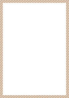A4 size perfect! Brown stripe!