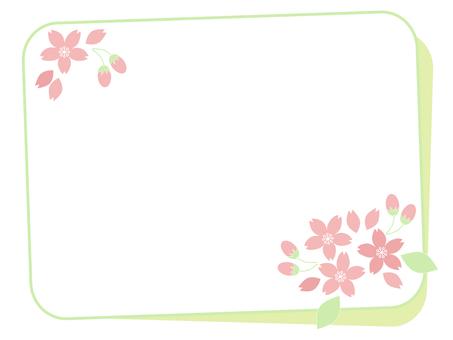 Sakura's card (green)