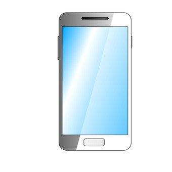 Smartphone (silver)