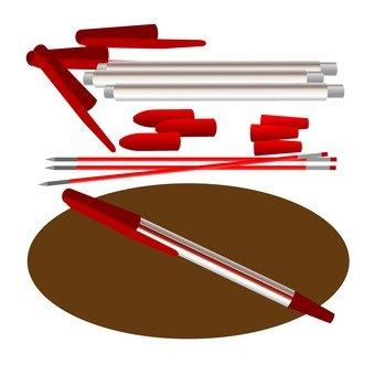 Assembling a ballpoint pen