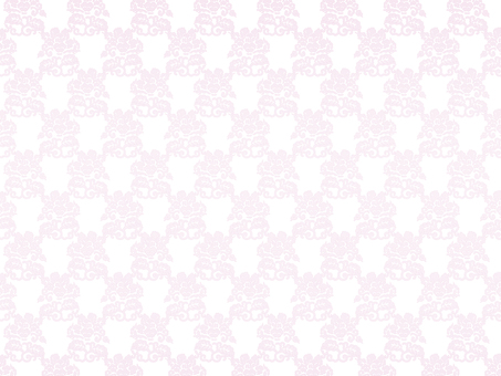 Rose pattern background on white background 5