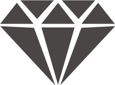 다이아몬드 일러스트 아이콘