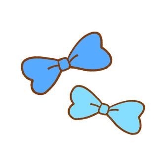 Ribbon set blue