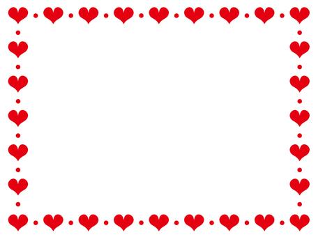 Heart decorative frame 13